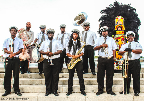 Young Pin Stripe Brass Band